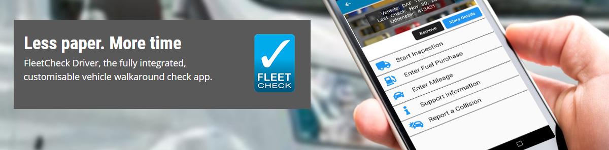 Fleet Check App
