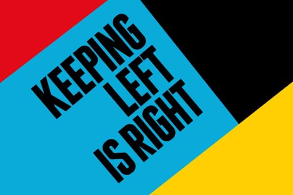 Keeping left is right